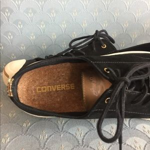 Converse Shoes - Men's Converse Jack Purcell Blk Suede (9.5)